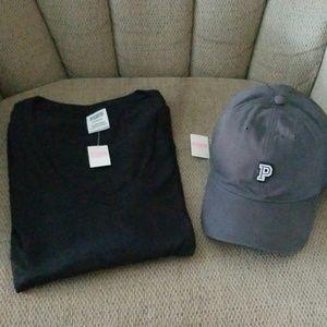"""""""PINK"""" HAT & TEE SHIRT"""